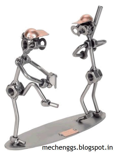 Nut and Bolt Sculpture- creative Mechanical Models