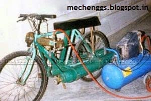 Compressed Air Bike
