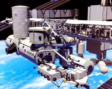 Fig. Free Flying Space Robots