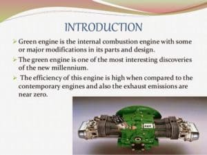 working of green engine
