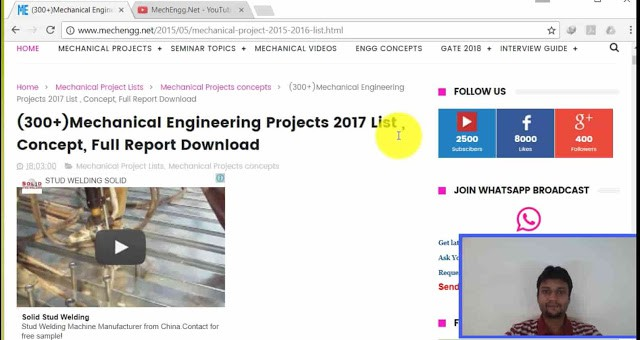 selection OfMechanical engineering projects 2017-min