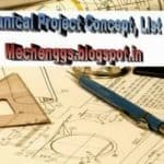 Mechanical Project Lists
