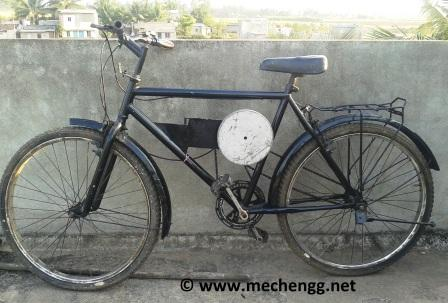 Kinetic Energy Recovery System in Bicycle (KERS Bicycle