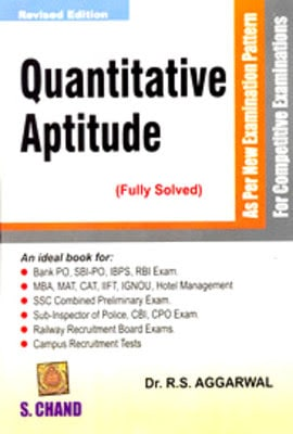 Quantitative Aptitude by R. S. Agarwal