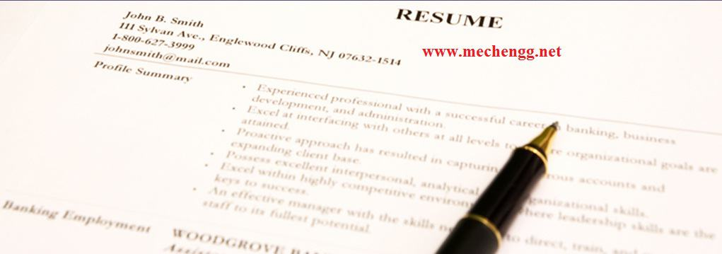 mechanical fresher resume samples format more than 100 pdf - Resume Sample Format In Pdf