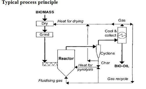 Fig. Fast pyrolysis Process