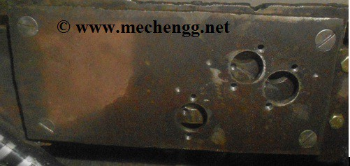 Support plate manufacturing