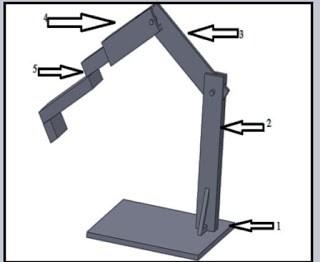 Catia Model Of Robotic arm