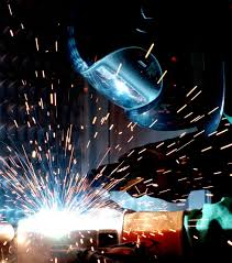 Fig. Gas metal arc welding (MIG welding)