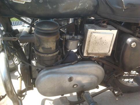 diesel engine example royal enfield