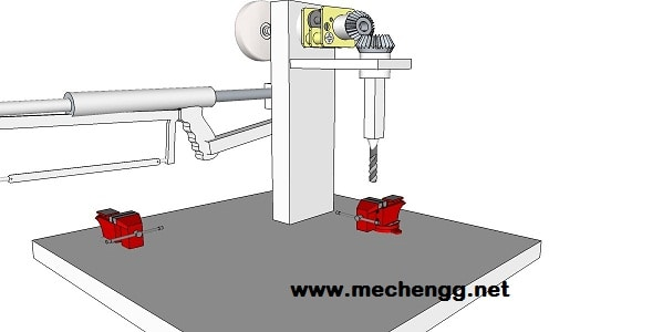 drilling machine power drive