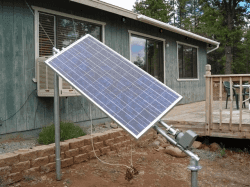 time operated automatic Tilting solar tracking system