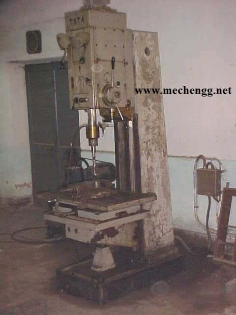 Column drilling machine
