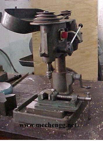 Table top small sensitive drilling machine