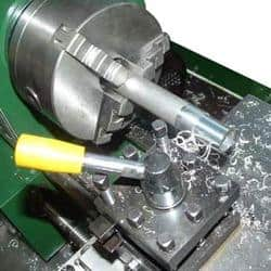 Conventional machining example