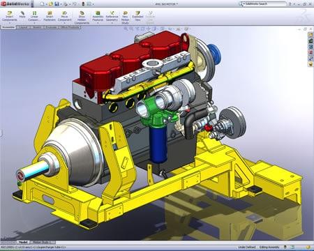 Solid work Design Software