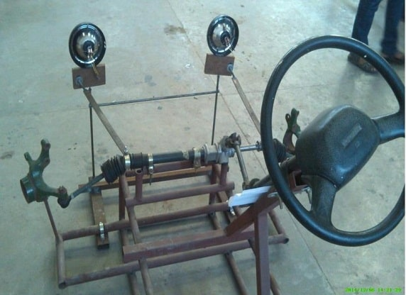 Front Wheel Steering System