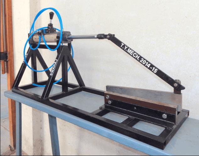 Pneumatic Sheet Metal Shearing/Cutting Machine report