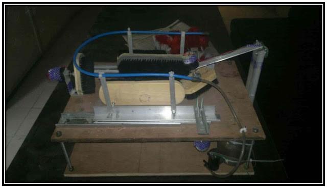 Design and Fabrication Of Automatic shoe Polishing Machine