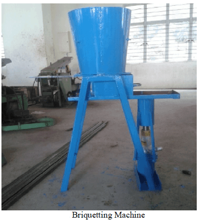 Design and Fabrication Of Briquetting Machine