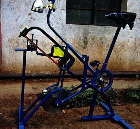 COMBINATION OF PEDAL–POWERED HACKSAW,CHARGER AND WASHING ...