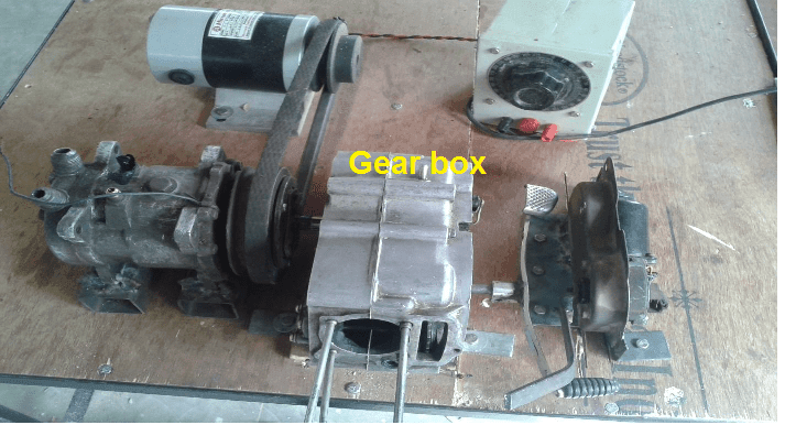 DEVELOPMENT OF AUTO GEAR TRANSMISSION WITH USE OF MAGNETIC CLUTCH