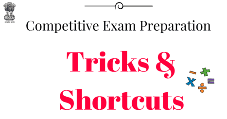 Best Mathematics and Aptitude-Reasoning Shortcuts For All Type Of Competitive Exam