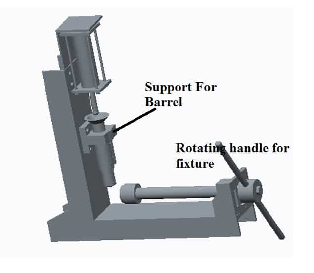 Fabrication Of Pneumatic Plastic Injection Moulding MacFabrication Of Pneumatic Plastic Injection Moulding Machine-3D Modelhine-3D Model