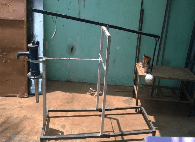 Design and Fabrication of Hand Water Pump Operated By a Pendulum