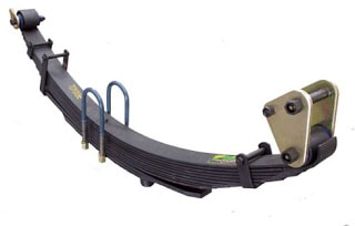 Leaf Spring With Shackle