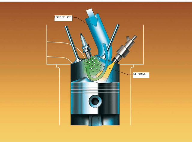 priniple working of Stratified Charge Engine