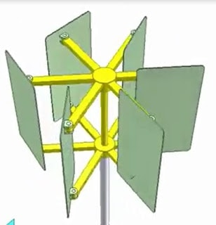 Modified windmill turbine Design