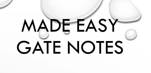 Made Easy Hand Written Notes Mechanical Engineering For GATE IES PSU