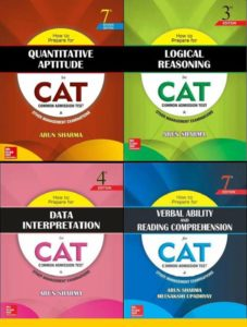 Best Recommended Books For CAT Examination 2017-2018
