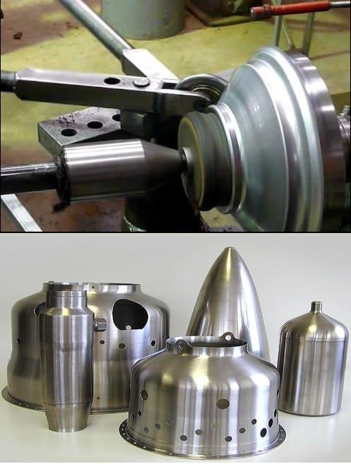 Sheet metal Spinning Process