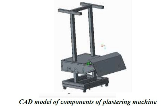 Design Of Automated Wall Plastering Machine