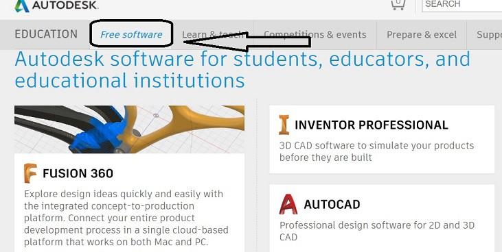 AUTOcad Download full version for free - student version