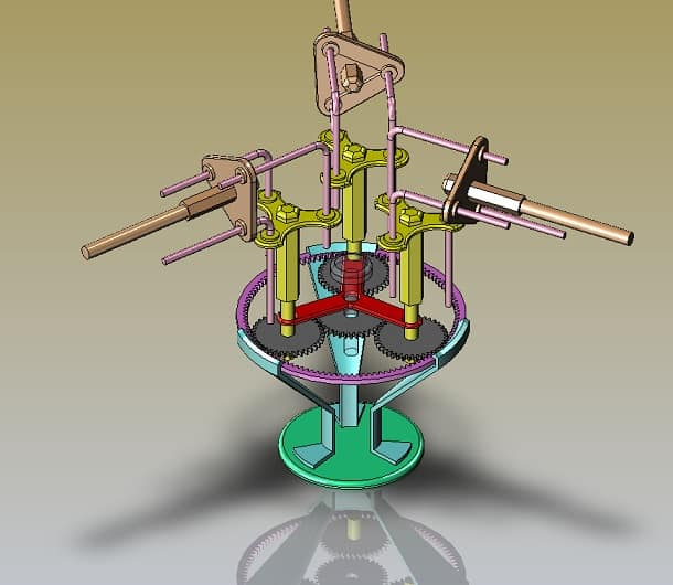 combination Of Gearless transmission and Epicyclic Gear