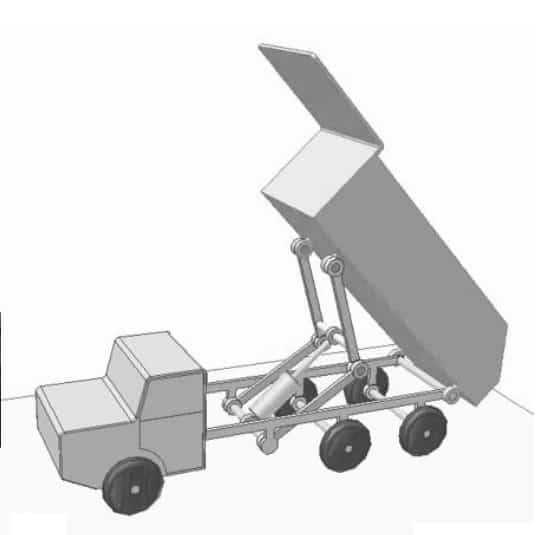 DESIGN AND FABRICATION OF DUMP TRUCK TILTING SYSTEM