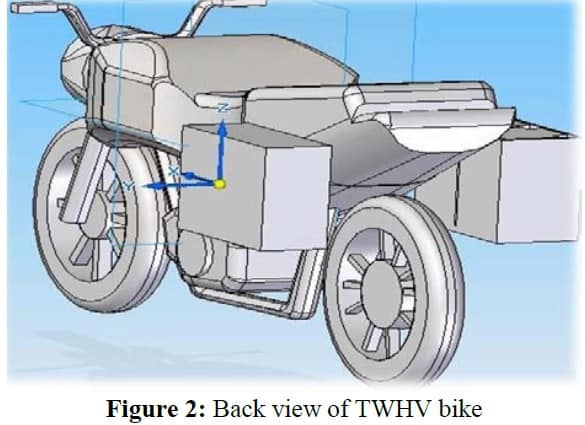 Design and Fabrication of Two Wheeler Hybrid Vehicle