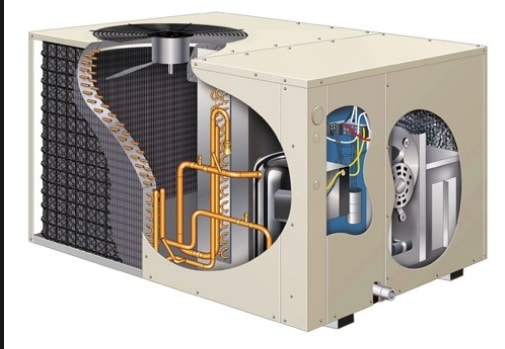 PACKAGED HEATING AND AIR CONDITIONING SYSTEM