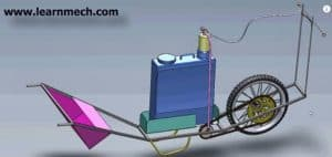 agricultural based mechanical project -sprayer