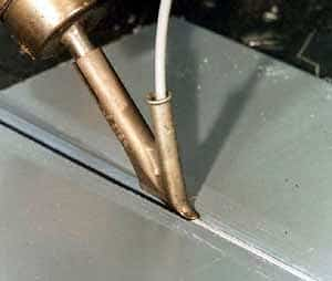 hot gas plastic welding