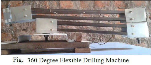 Design and Fabrication of 360° Flexible Drilling Machine