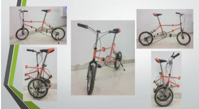 design and fabrication of foldable bike