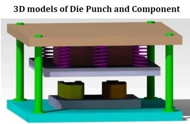 Design and Analysis of Blanking and Piercing die punch