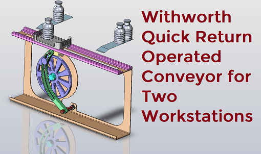 Withworth Quick Return Operated Conveyor used For two Workstations