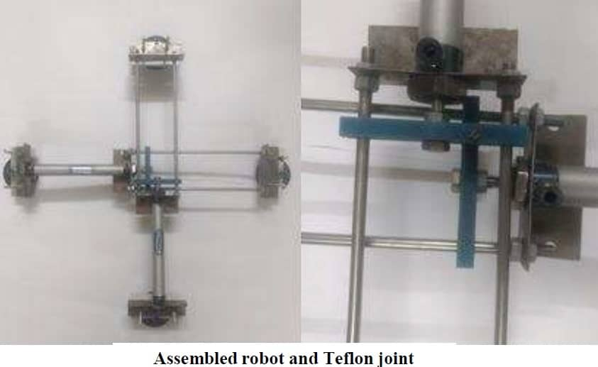 Wireless Controlled Pneumatically Operated Wall Climbing Robot - Mechanical Project