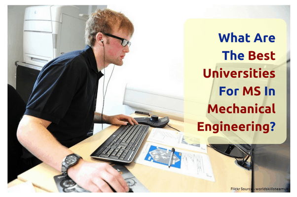 best universities for Mechanical Engineering