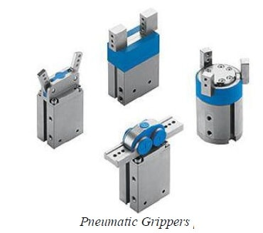 pneumatic gripper - types of gripper
